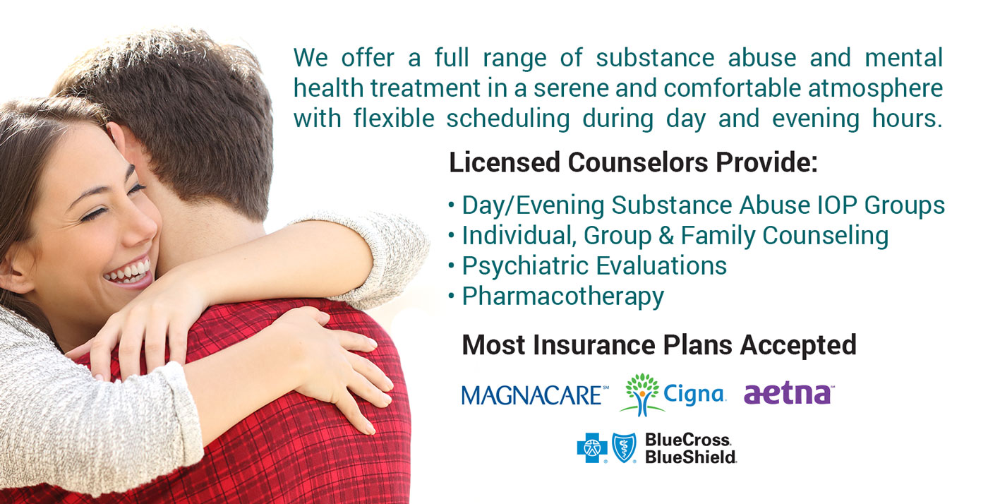 outpatient and intensive outpatient addiction counseling in Succasunna, NJ